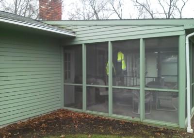 3 Season Porch- Before - Mansfield, MA