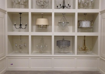 Commercial Project - Yale Chandelier Display - Framingham, MA