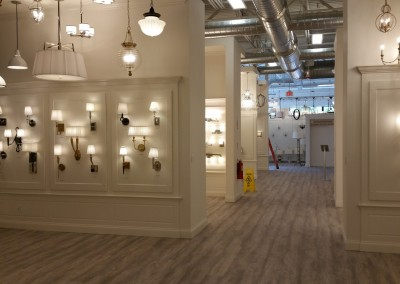 Commercial Project - Yale Light Wall Display - Framingham, MA