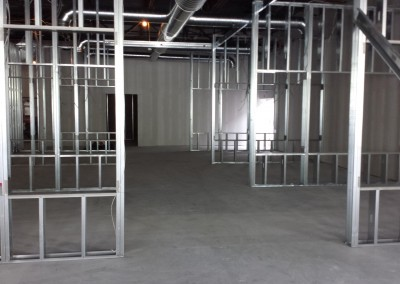 Commercial Project - Yale Metal Wall Framing - Framingham, MA