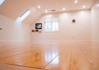 New wood flooring, Sharon MA