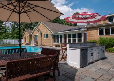 Outdoor Kitchen, Easton, MA